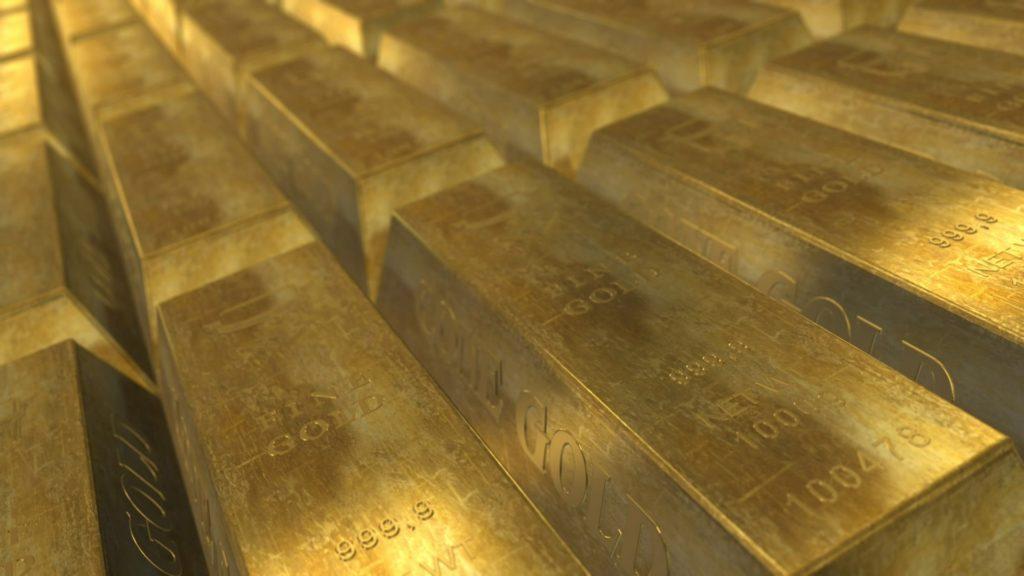 Zlaté rezervy ilustrační foto